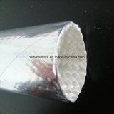 Aluminized Fiberglass Glass Fibre Heat Protective Sleeving
