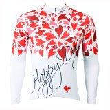Love Happy Day Men′s Breathable Fashion Cycling Jersey