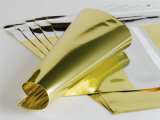 Gold Hot Stamping Foil Film for Fabric/Packing Materials