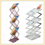 Pop up Magazine Stand/Exhibition Brochure Stand (A4)