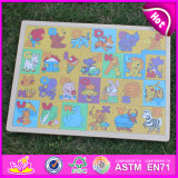 2015 Hot Sale Wood Jigsaw Puzzle Toy, Brand New Wooden Jigsaw Puzzle Toy, Preschool Wood Jigsaw Puzzle Toy W14c241