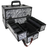 Beauty Zebra Cosmetic/Makeup Case (HX-A0704)
