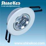 1W Aluminium LED Downlight Luminaire (SUN10-1W)