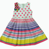Beautiful Ball Picture Dress in Children Clothes (SQD-131)