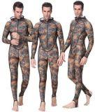 in Stock, Camo Style Long Lycar Rash Guard/Swimwear/Sports Wear (HX-R0016)