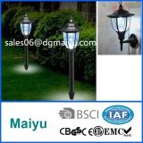 Outdoor LED Solar Rechargeable Power Lawn Lamp