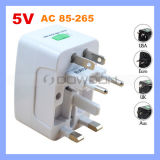 All in One Universal Worldwide Travel Wall Charger AC Power Au UK Us EU Plug Adapter