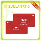 Dual Frequency Composite RFID Card with Two Chips