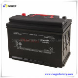 Supplier Deep Cycle AGM Battery 12V75ah for Solar Storage