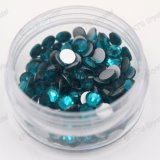 Excellent Quality Crystal Flatback Stones Glass Rhinestone for Cell Phone, Flat Back Gems