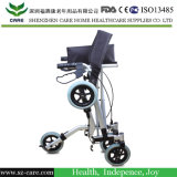 Four Wheeled Aluminum Walker Rollator