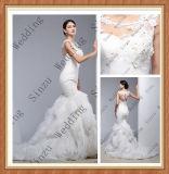2017 Elegant Mermaid Evening Bridal Wedding Gown F5077