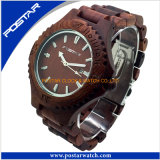 2016 Wooden Watch Wrist Watches for Man in Western Country