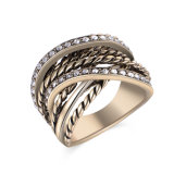 New Design Fashion Jewellery Gold Plated Ring