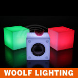 Rechargeable 3D Color LED Cube RGB 10X10X10cm