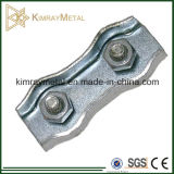 Electro Galvanized Carbon Steel Duplex Wire Rope Clip