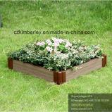 WPC Interlocking Flower Planter for Private Garden Usage