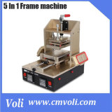 5 in 1 Mobile Phone Repairing Machine for Middle Frame Separator, Frame Laminator, Glue Remove