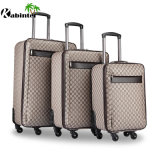 Cheap Price Leather Material Luggage Bag Travel Luggage Set
