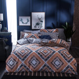 Luxury Printed Cotton Bedsheet Duvet Covers Bedding Set