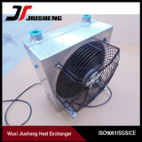 Wuxi Aluminum Oil Coolers with Fan for Hitachi