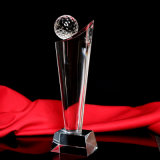 Custom Crystal Sport Trophy Craft for Football