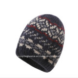 Classic Wool Jacquard Knitted Hat
