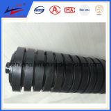 Rubber Coating Conveyor Roller, Hot Valcanized Rubber Coat Conveyor Roller