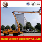 24m Aerial Working Platform Hydraulic Jack Lift Truck