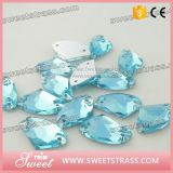 Factory Wholesales Sparkle Jewerlry Glass Crystal for Wedding