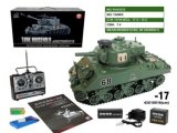 57501e17-German Panther IV Emulation R-C Shooting Battle Tank