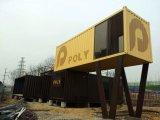 Prefab Holiday Cottage by Shipping Container