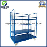 Wheeled 4-Sides Nestable Roll Container