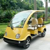 CE Approve 4 Seats Electric Battery Car for Garden (DN-4)