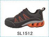 Upper Leather Sole Rubber TPU Work Safety Shoe