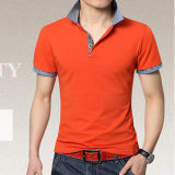 Cotton Slim Fit Polo Shirt Made in Guangzhou
