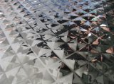 201 304 Color Mirror Finished Stamping Patterned Stainless Steel Sheet