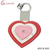 Promotion Gift Metal Leather Keychain (LM1059)