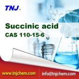High Quality Succinic Acid Industry/Food/Phamra at China Factory