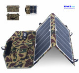 Portable Solar Charger 13W Sunpower Foldable Solar Panel USB Output Waterproof Solar Rechargeable Folding Bag for iPhone/iPad (FSC-13AT)