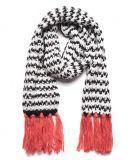 Fashion 100% Acrylic Knitted Knitting Scarf