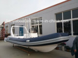 Liya 22ft CE Approved High Speed Row Boats for Sale