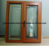 Customzied Germany Style Aluminum Clad Wooden Casement Window