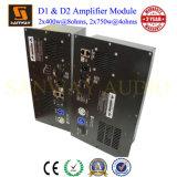 D2l & D2s 900W+900W@4ohms 2 Channel Class D Digital DSP Plate Amplifier for Passive Speaker