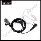 2 Way Radio Clear Tube Headset for Kenwood