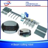 Almighty 360 Production Line Robot for Steel Round Pipe Profile Cutting Coping Machine Kr-Xq