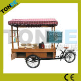 Tricycle Two Front Wheels Food Bike Mobile Coffee Bike