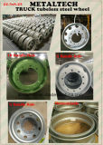 22.5X8.25 Tubeless Truck Trailer Steel Wheel Rim