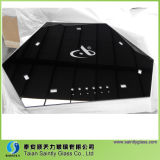 Tempered Glass Covers for Equipment with Black Printing