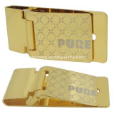 Gold Plated Zinc Alloy Metal Clip Buckle